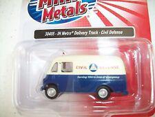 Classic Metal Works HO Scale International Metro Van Civil Defense #30405 BTTG