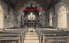 Hampshire, RAMSDELL Christ Church  - Real Photo postcard.