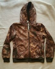 Under Armour Womens Realtree Camo Fleece Lined Zippered Jacket Size XL Hunting