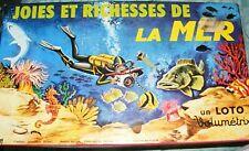 Loto Joies et Richesses de la Mer, Volumétrix - Cavahel Vintage