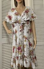 Torrid Size 1X Dress Floral Short Sleeve Boho