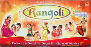 RARE! Rangoli: 11 Super Hit Gujarati Movies Collection (DVD, 11-Disc Set, Madhu)