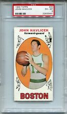 1969 Topps Basketball #20 John Havlicek Rookie Card RC PSA 6
