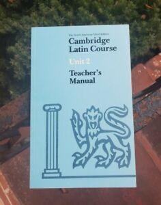 CAMBRIDGE LATIN COURSE, Unit 2, TEACHER'S MANUAL, North American edition