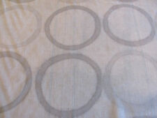 """Gorgeous Carolyn Ray Fabric """"HOPSCOTCH"""" in Shadow 8+ Yards 100% Linen Sheer"""