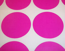 100 Dark Pink 20mm 3/4 Inch Colour Code Dots Round Stickers Sticky ID Labels