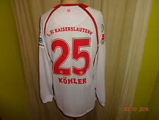 1.FC Kaiserslautern uhlsport Langarm Matchworn Trikot 12/13 + Nr.25 Köhler Gr.XL