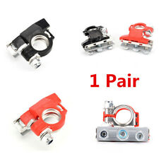 2x Universal Car Truck Battery Cable Terminal Connector Quick Release Clamps