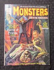1975 MONSTERS OF THE MOVIES Magazine #7 FN+ Horror Of Dracula