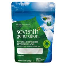 Seventh Generation Natural Dishwasher Detergent Pack - 20 Piece