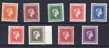 Nueva Zelanda: Sellos 1954 la reina Isabel II funcionarios Menta montado