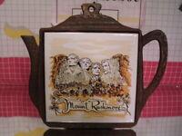 Mount Rushmore Mid-Century Vintage South Dakota Souvenir Trivet