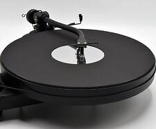 Matt Black & Mirror Premium Acrylic Turntable Platter Mat. fits PRO-JECT & REGA
