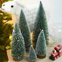 30CM Tabletop Christmas Pine Tree Xmas Mini Snow Trees Small Decoration Gifts