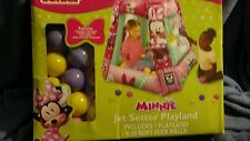 Disney's Junior Minnie Mouse Jet Setter Playland with 50 Balls