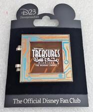 D23 Disney Treasures Exhibit Reagan Library TRON Legacy Storybook Hinged Pin