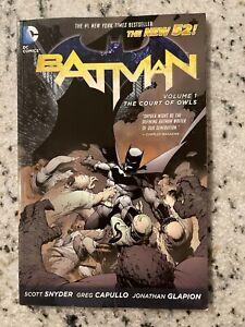 Court Of Owls BATMAN Vol. # 1 DC Comics TPB Graphic Novel Comic Book Joker J587