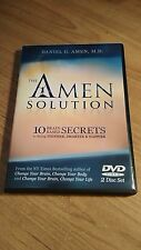 The Amen Solution:10 Brain-Based Secrets to Being Thinner-Smarter DVD 2-Disc