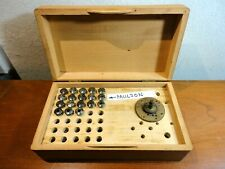 Collets for Watchmakers Lathe 8 mm PAULSON