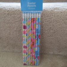 Easter Pencils - Bunnies & Eggs - 8 count