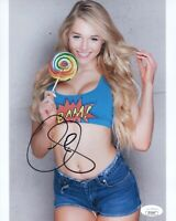 COURTNEY TAILOR Signed SEXY Instagram Model 8x10 Photo JSA COA Cert