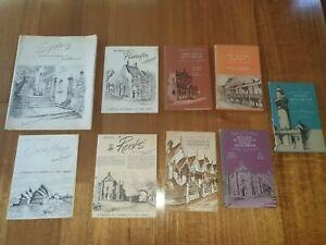 Vintage Original Cedric Emanuel Prints x24 collection Signed Autographed + Books