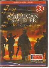 AMERICAN SOLDIER -ARMY NATIONAL GUARD 2 DISK SET DVD NEW