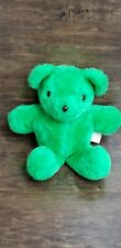 Stuffed By Me At The Basic Brown Bear Factory Merrilee Woods Green Plush Animal