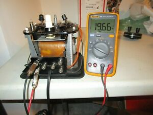 Lionel KW 190 Watt Transformer Replaced new cord new circuit Breaker and diode