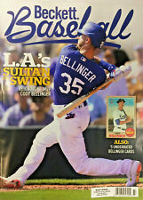 New May 2020 Beckett Baseball Card Price Guide Magazine With Cody Bellinger