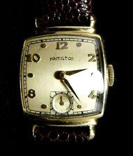 VINTAGE HAMILTON NORMAN 14K GOLD FILLED WATCH