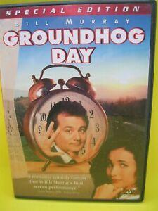 GROUNDHOG DAY DVD (REG 1) 1993 BILL MURRAY, ANDIE MACDOWELL