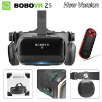 120° Virtual Reality Headset  3D VR Glasses With Remote Gamepad for Android IOS
