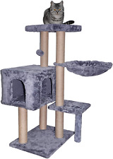 Wiki 002G Cat Tree has Scratching Toy with a Ball Activity Centre Cat Tower Furn