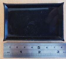 Small black watermark detection tray. 80mm x 50mm.