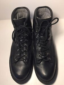 Danner Blackhawk II Men's Size 14D Black GoreTex 24600 Boots Made in USA
