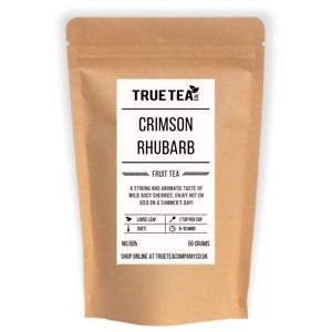 Crimson Rhubarb Fruit Tea (No.505) - Loose Leaf Fruit Tea - True Tea Co.