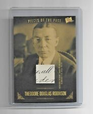 2017 The Bar Pieces of the Past Theodore Douglas Robinson Written Document Card