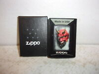 Zippo Lighter - Tattoo Devil - 28862 - NEW