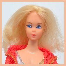 Vintage Dramatic Living Barbie - Platinum Blonde - Centered Eyes Mod TNT