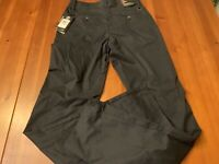 Under Armour Straight Loose Mens Size 30X36 Black Casual Pants New W/Tags