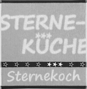 Geschirrtuch Küchentuch Sternekoch, Frottee, Fa. Kracht