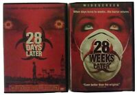 28 DAYS LATER & 28 WEEKS LATER 2 DVD MOVIES APOC ZOMBIE SHTF MILITARY ACTION
