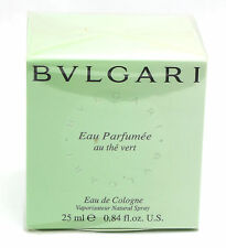 Bvlgari Green Tea By Bvlgari For Men and Women Cologne Spray .84 oz New & Sealed