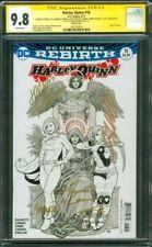 Harley Quinn 16 CGC 6XSS 9.8 Cho Conner Palmiotti Lisner Timms+1 Sketch Variant