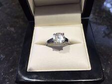Engagement Natural Not Enhanced I3 Fine Diamond Rings