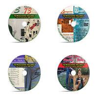 73 Magazine, All Issues 4 DVD set, 500+ Amateur Ham Radio Today Magazine DVD B00