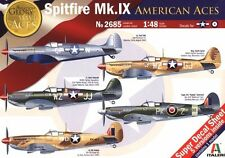 NEW, Italeri 1:48 Spitfire Mk.IX American Aces, Out Of Product item
