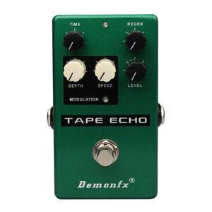DemonFX TAPE ECHO Guitar Effect Pedal Overdrive Flash Delay ECHO