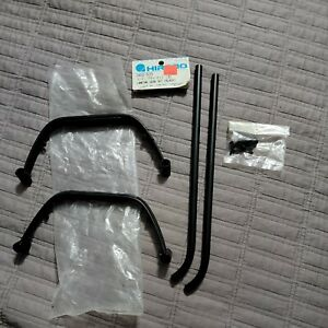 Hirobo 0402-533 landing gear set black for RC Heli Helicopter New open package